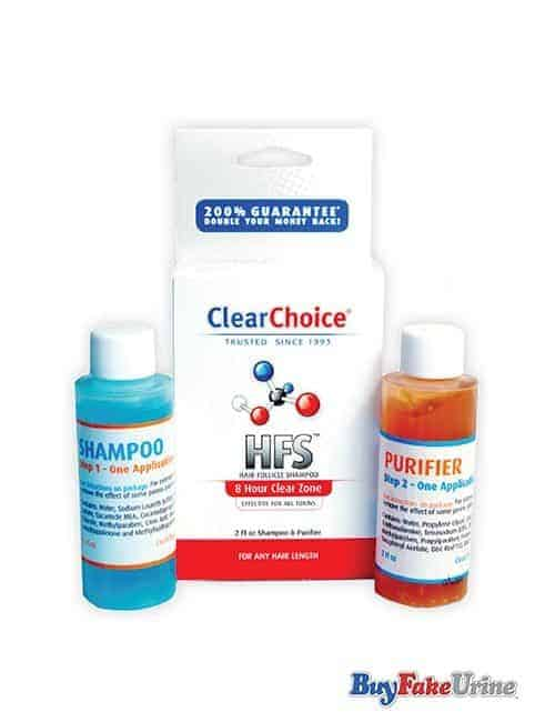 Image of a product - Clear Choice 8 hour hair folicle detox shampoo