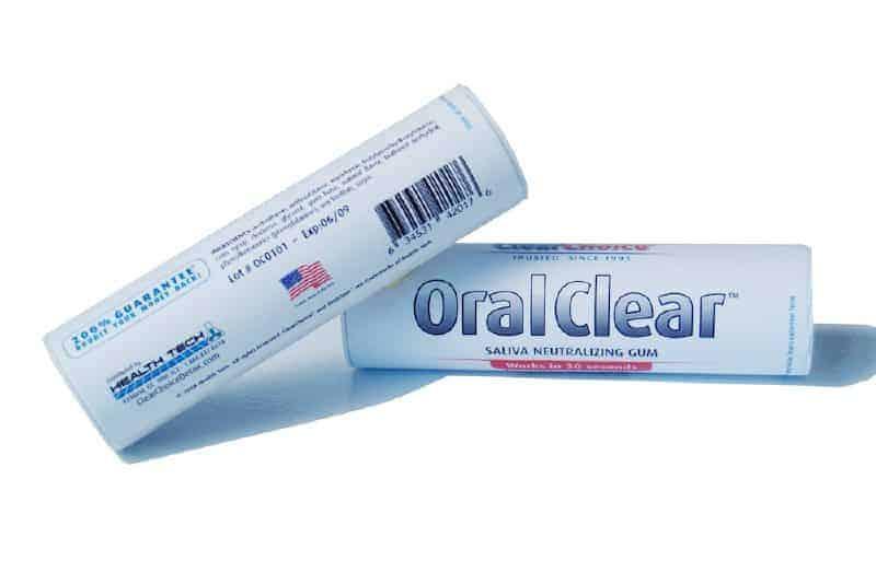 clear choice oral chew saliva gum